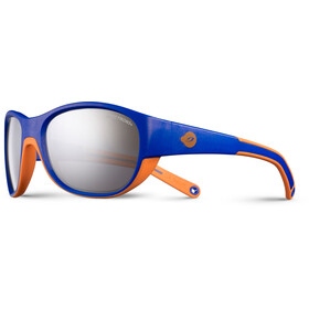 Julbo Luky Spectron 3+ Occhiali da sole 4-6 anni Bambino, royal blue/orange-gray flash silver